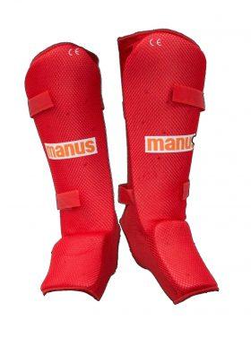 Scheenbeschermers voor Thaiboksen / K1 / MMA Rood