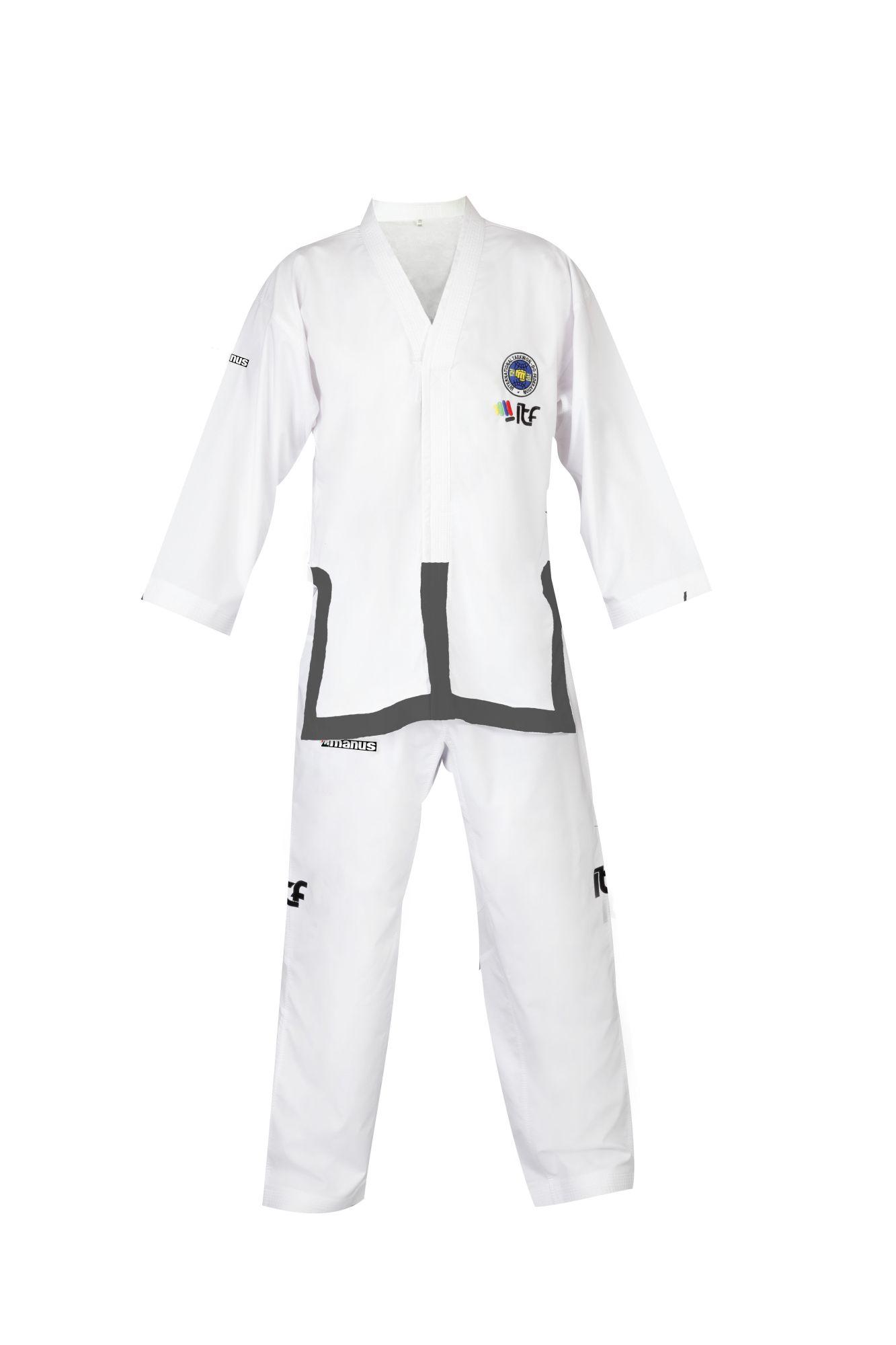 """Taekwondopak """"Master"""" (1st Wit"""