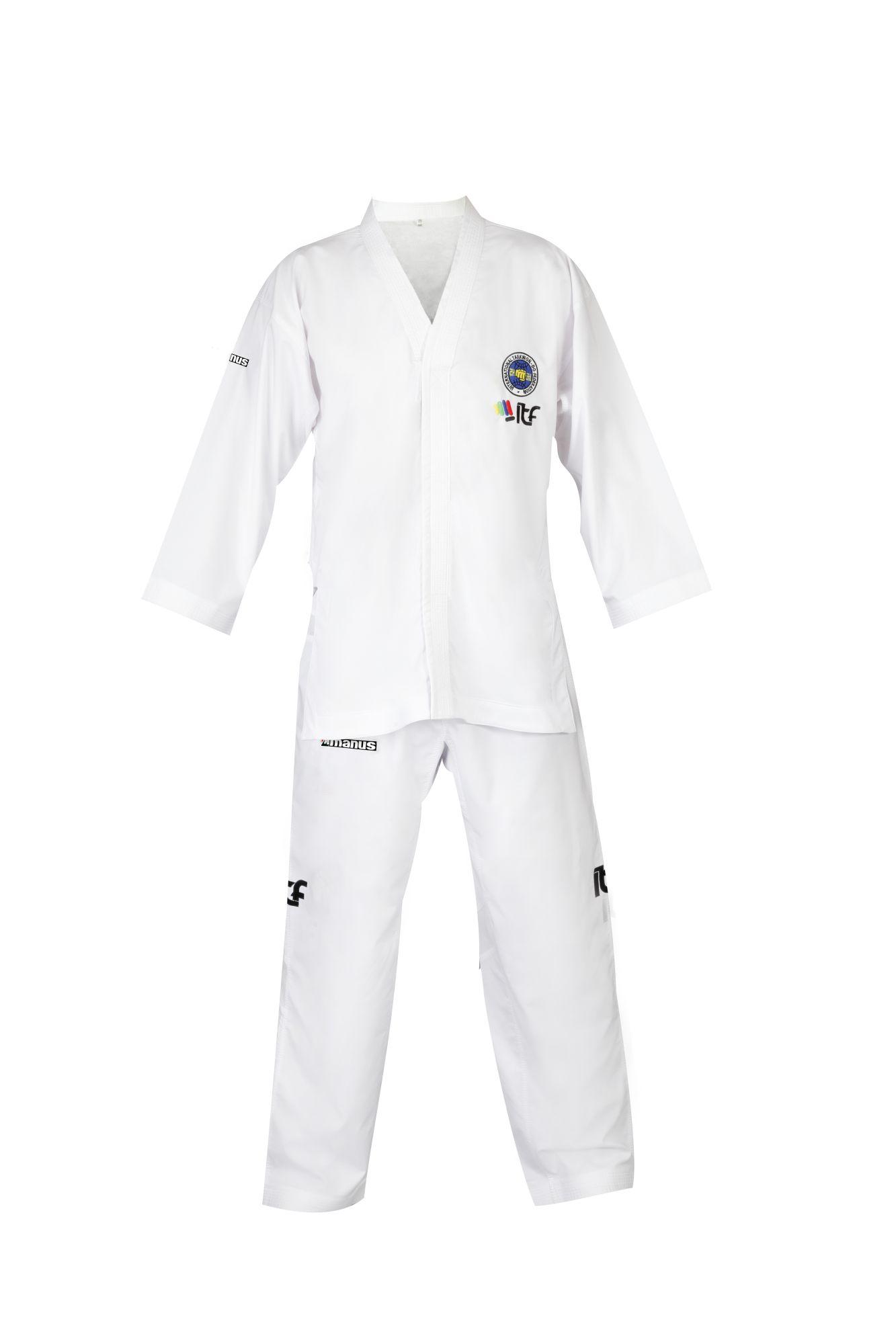 "Manus Taekwondopak ""Student"" (ITF approved) (Wit)"