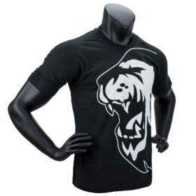 Super Pro T-Shirt Lion Logo Zwart/Wit 140