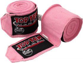 TOP TEN Elastische boksbandage Roze