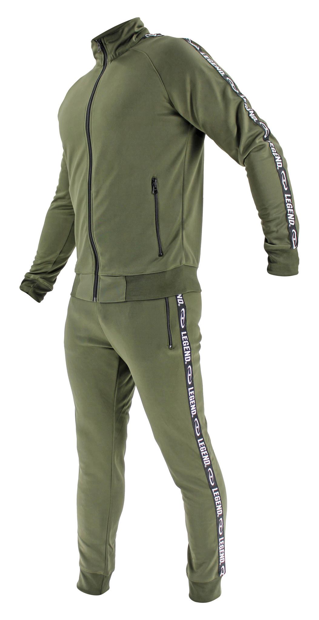 Legend B-keuzeTrainingspak Unisex SlimFit Army Green