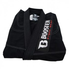 Booster BJJ PRO LIGHT BLACK-SILVER