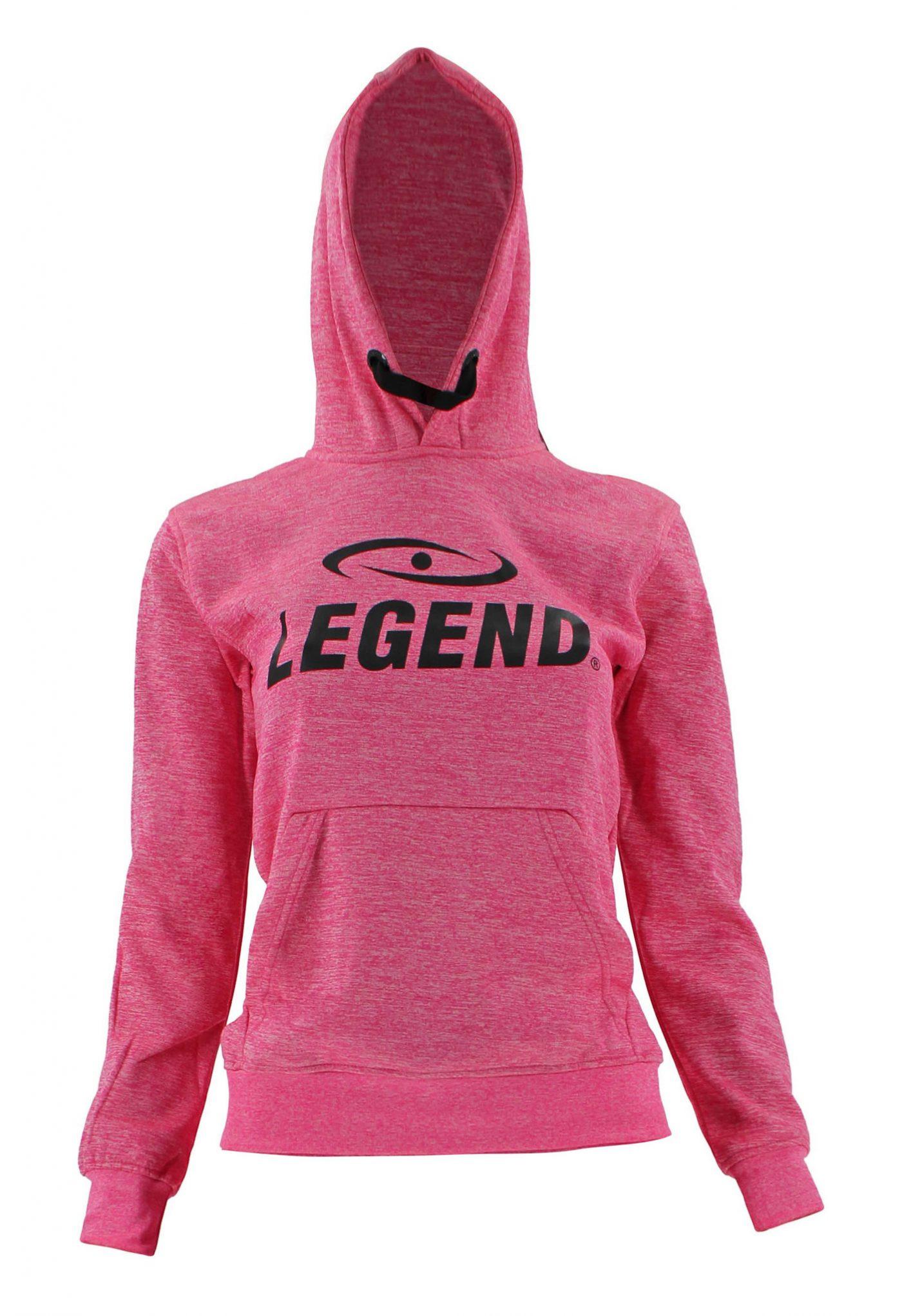 Hoodie dames/heren trendy Legend design Roze