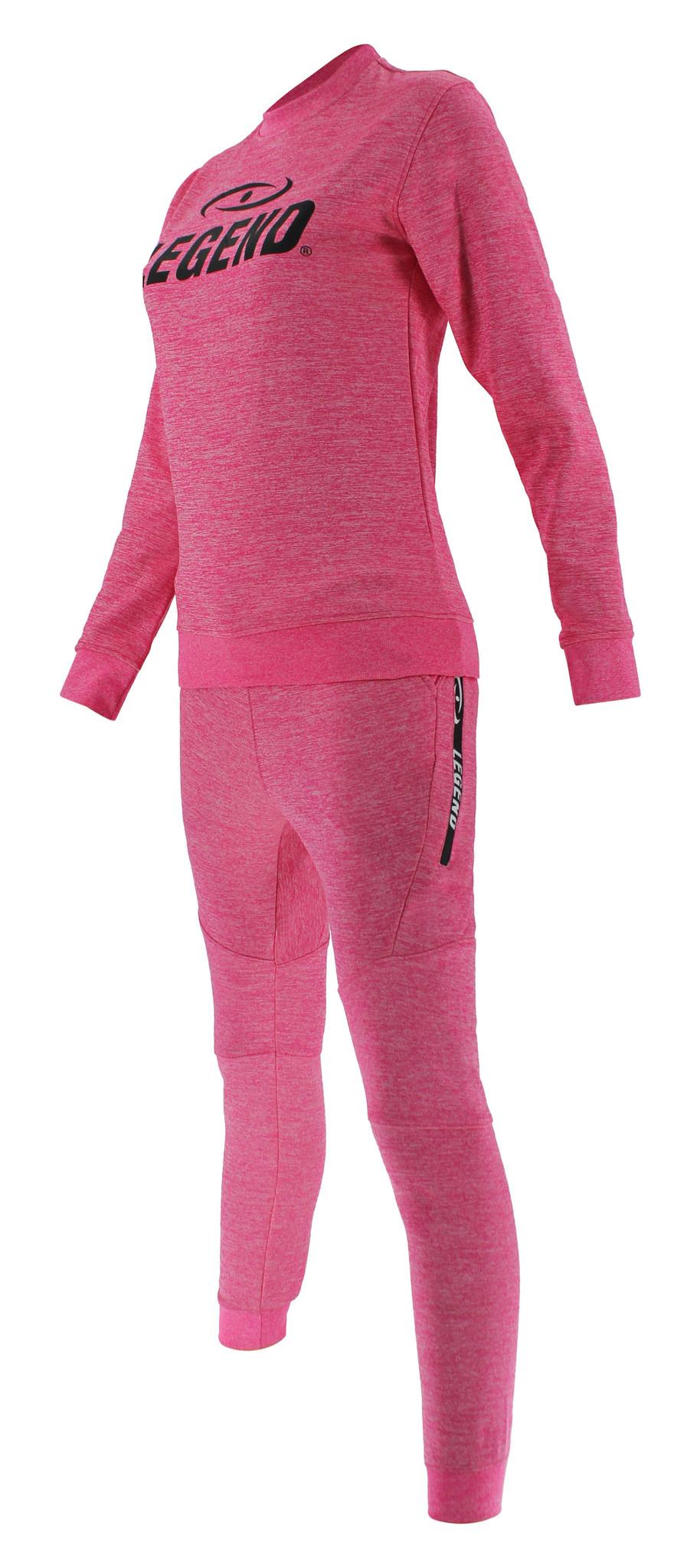 Joggingpak dames/heren met trui/sweater Roze