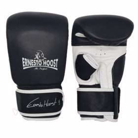 Ernesto Hoost Bag Gloves ''Special DDF'' Leather - Black/White