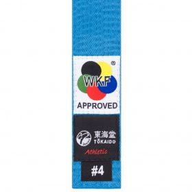 Tokaido karateband - Blauw