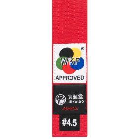 Tokaido karateband - Rood