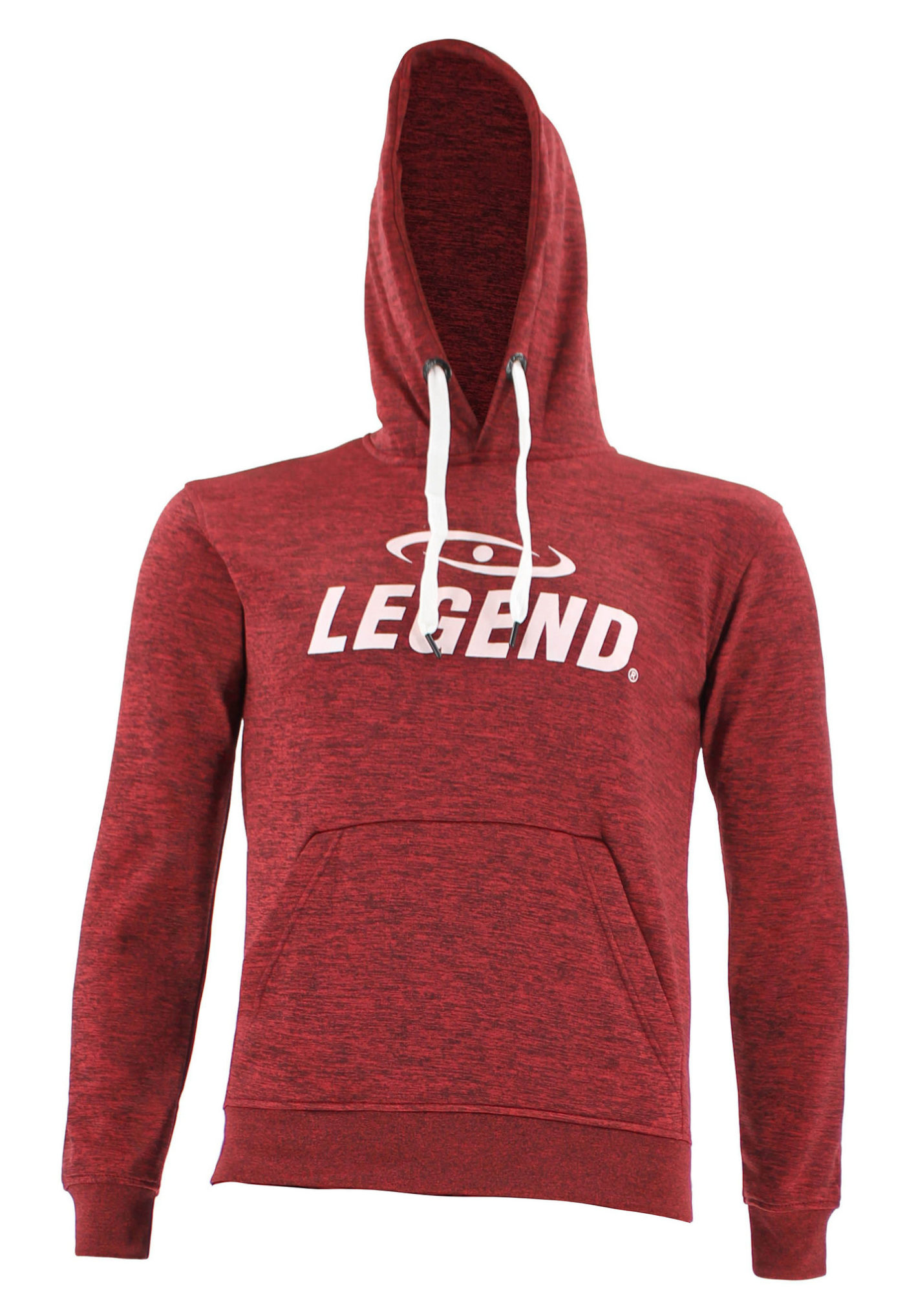 Hoodie dames/heren trendy Legend design Rood