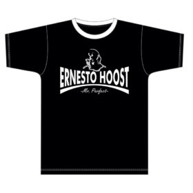 "Ernesto Hoost T-shirt ""Mr. Perfect"" Black"