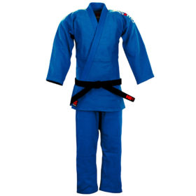 Essimo Judopak Ippon Blauw – Slim Fit