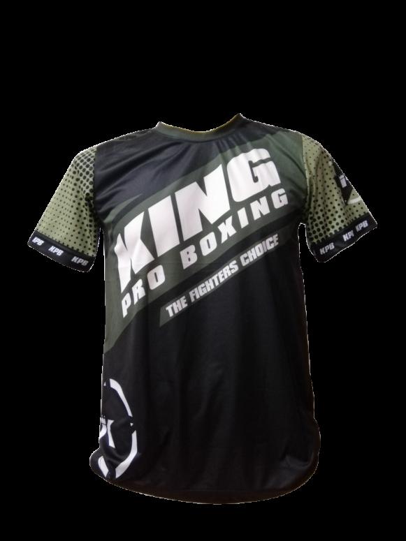 King Pro Boxing Star Vintage Kaki Tee