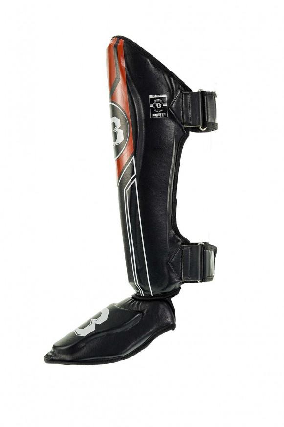 Booster BSG V9 scheenbeschermers (zwart / rood)