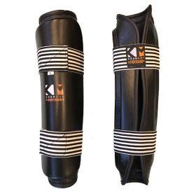 KravMaga Fightgear Scheenbeschermer - Zwart