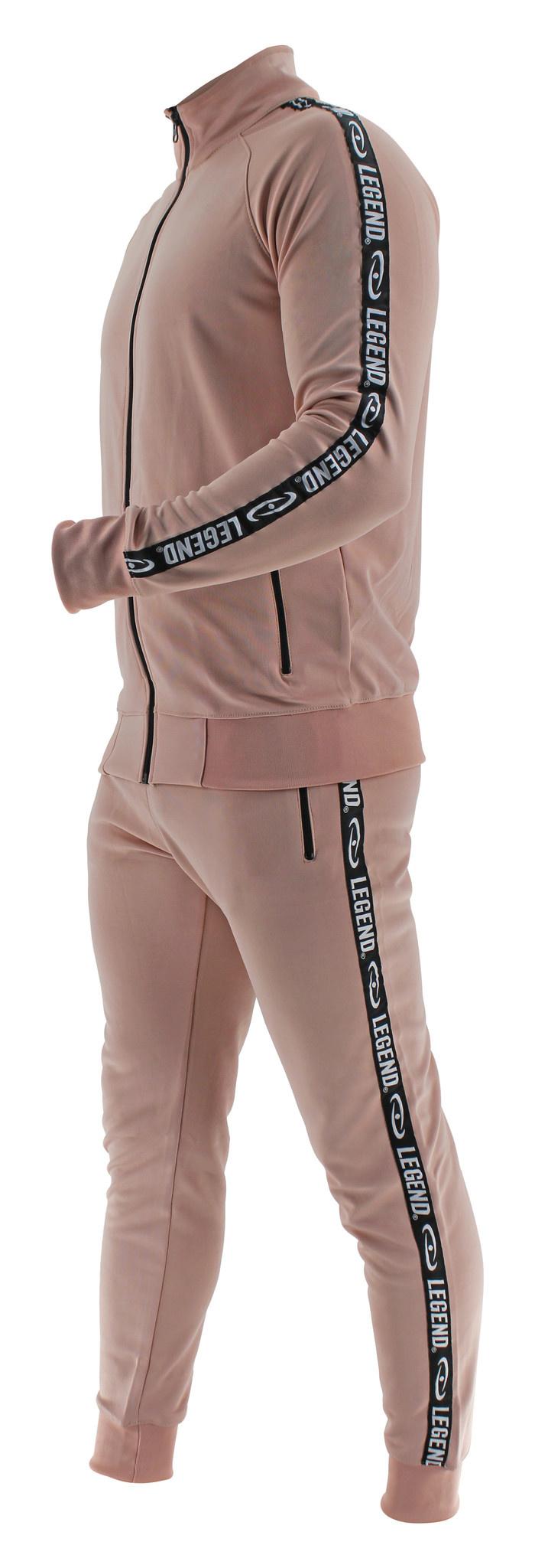 Legend B-keuze Trainingspak Unisex SlimFit Nude Pink