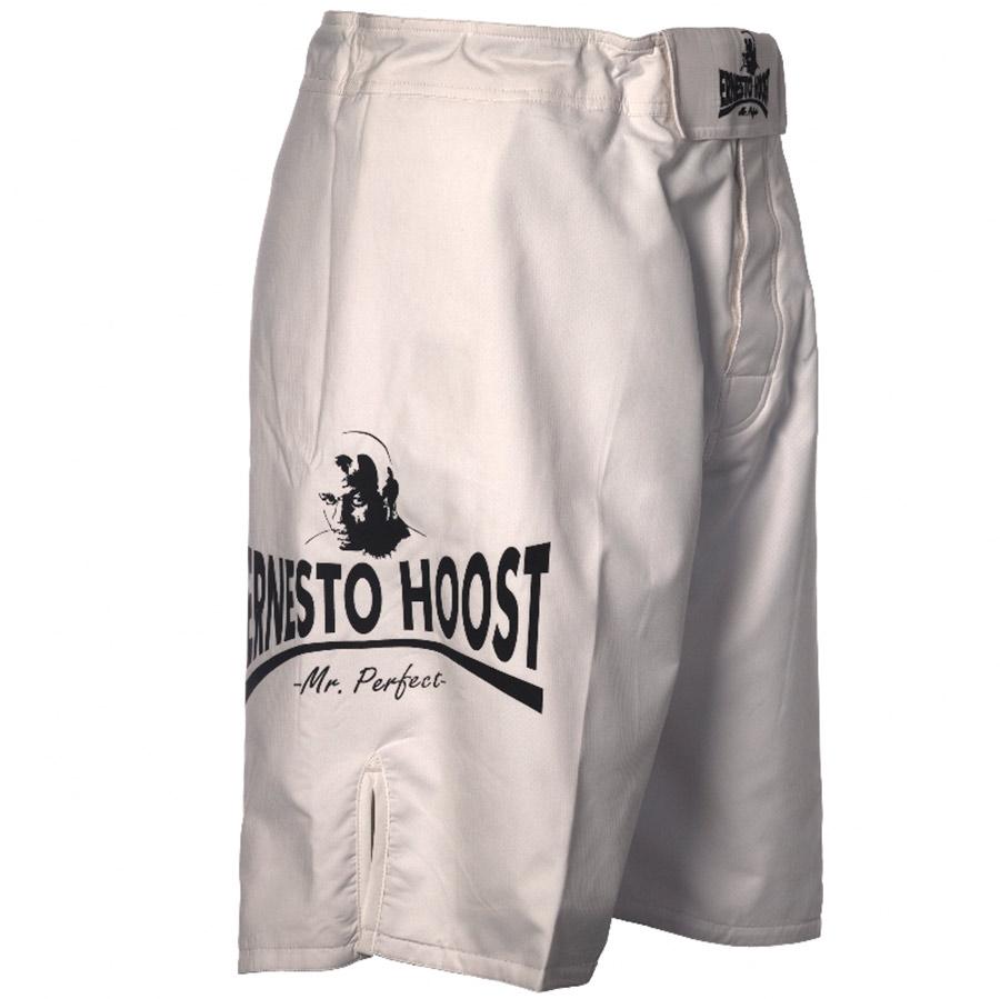 """MMA Short """"Mr Perfect"""" Wit"""