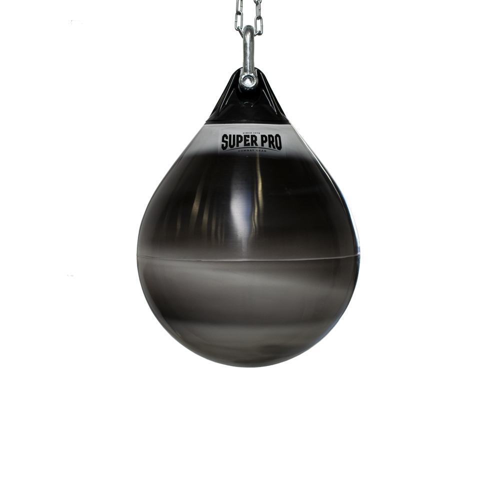 Super Pro Combat Gear Premium Waterpro Punchbag Black/White 50 x 38
