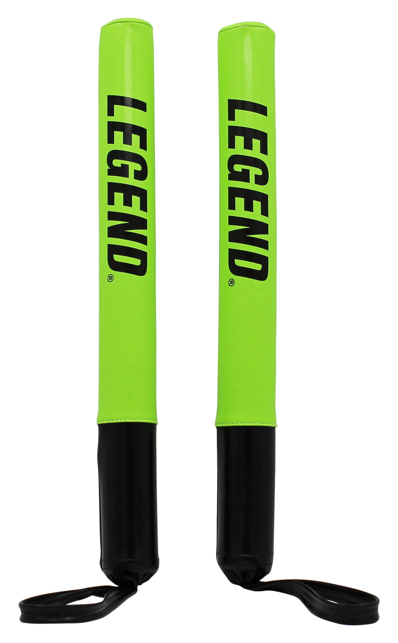 Legend Target stootkussens sticks zwart/neon