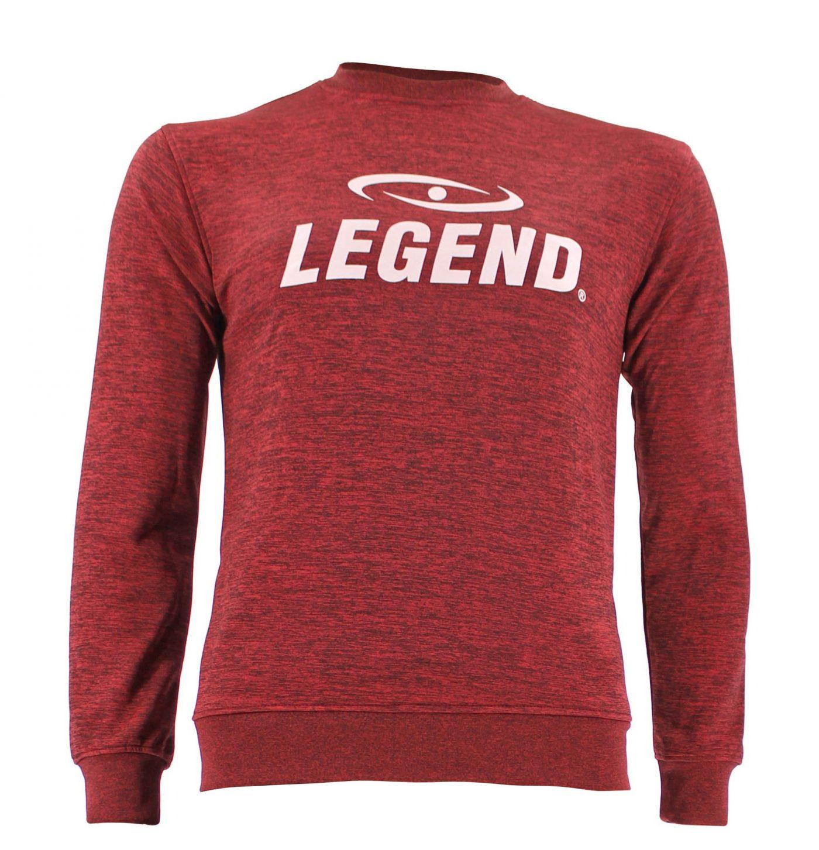 Trui/sweater dames/heren SlimFit Design Legend Rood