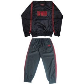 TUF Wear Sweat Suit/ zweetpak Large