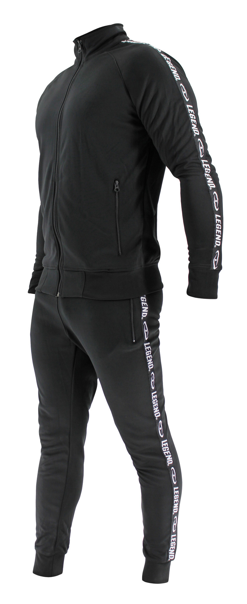 Legend B-keuze Trainingspak Unisex SlimFit Zwart
