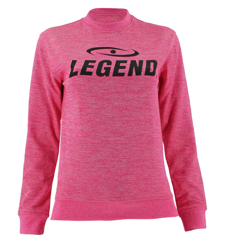 Trui/sweater dames/heren SlimFit Design Legend Roze