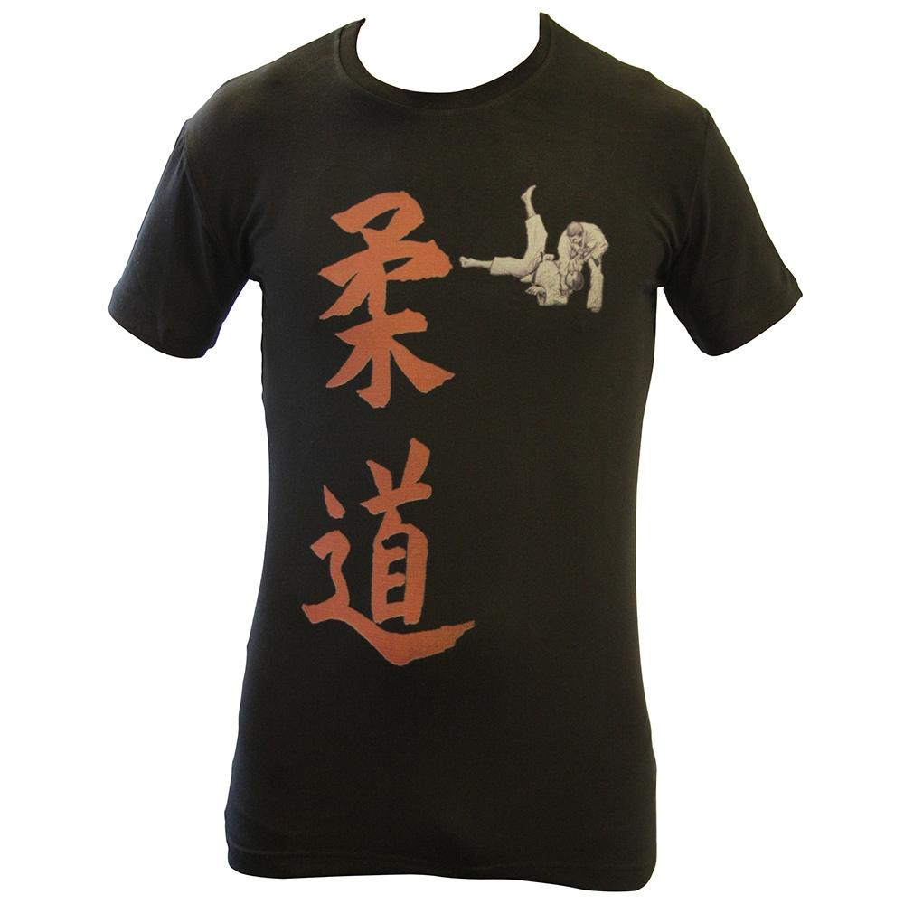 T-shirt ''Kanji'' - Zwart