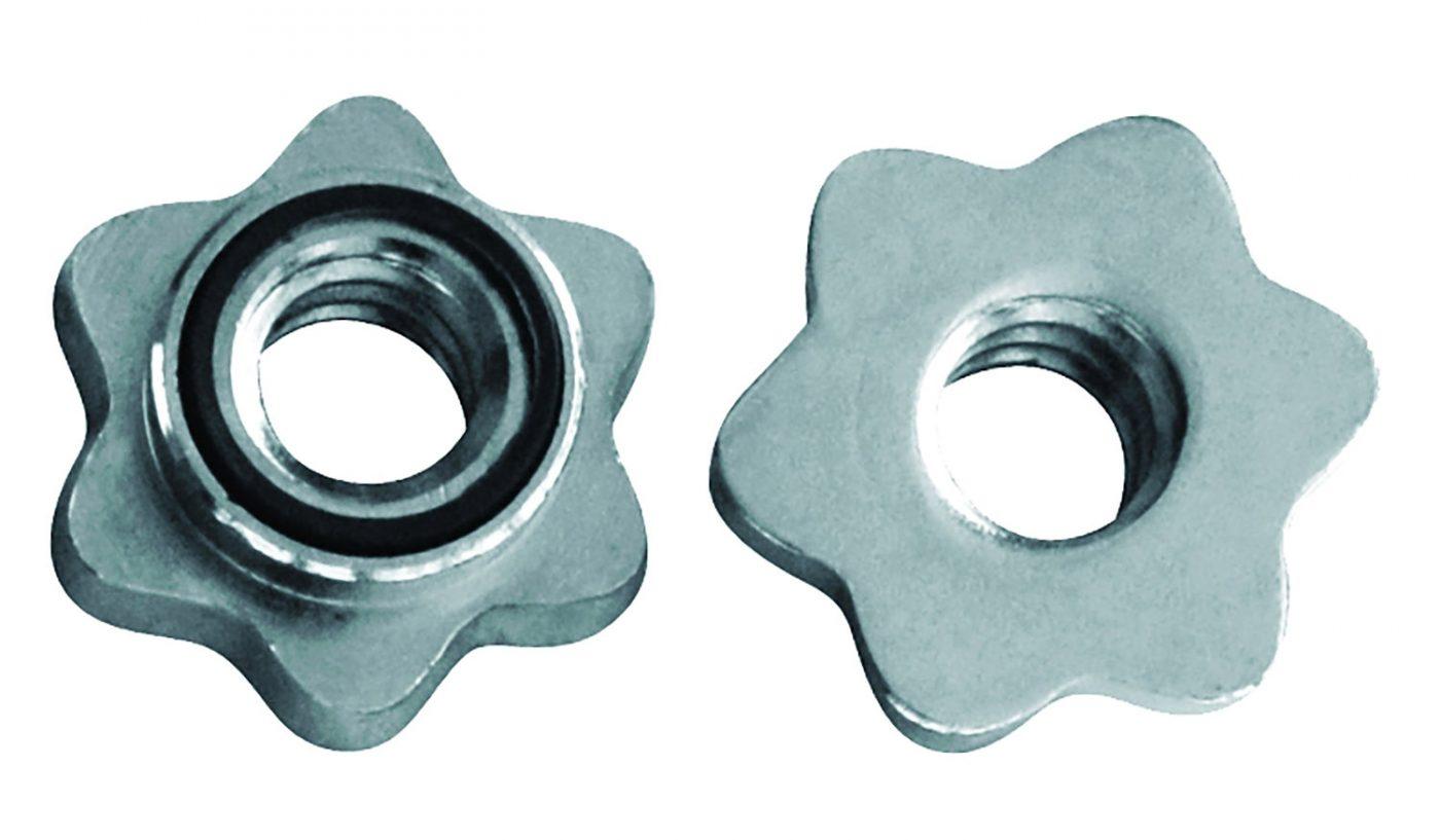 Tunturi Gewichtsluiters - Schroefsluiters - Halterstangsluiters - 30mm - 2st