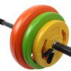 Tunturi Halterset - Halterstang- Aerobic Pump Set - 20 kg