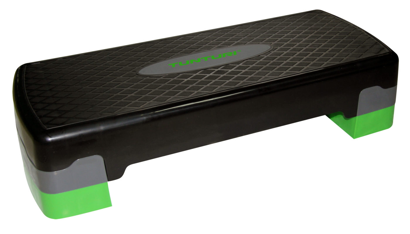 Tunturi Aerobic Step Easy - Verstelbaar - Zwart