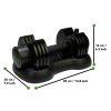 Tunturi Verstelbare dumbbell set - Selector Dumbbell - 12,5kg