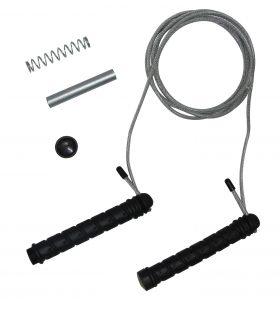 Tunturi - Springtouw - Sport springtouw - Fitness springtouw - Zwaar Gewicht - Verstelbaar