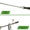Tunturi Verstelbare springtouw Pro - speed rope - 3m- Zwart