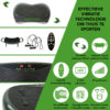 Tunturi Cardio Fit V10 Trilplaat - Vibration plate
