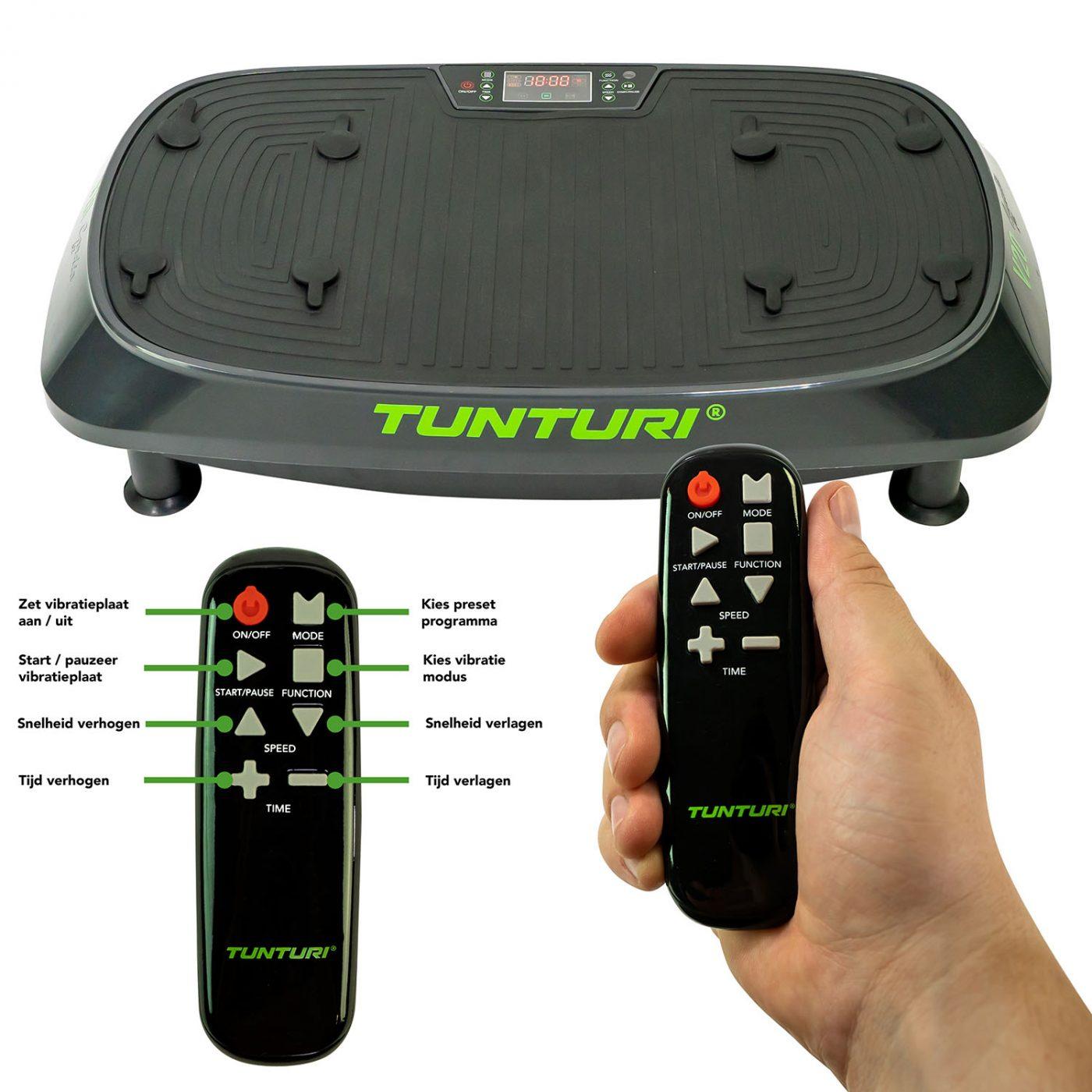 Tunturi Cardio Fit V20 Trilplaat - Vibration plate