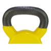 Tunturi Kettlebell - Vinyl - 6 kg - Geel