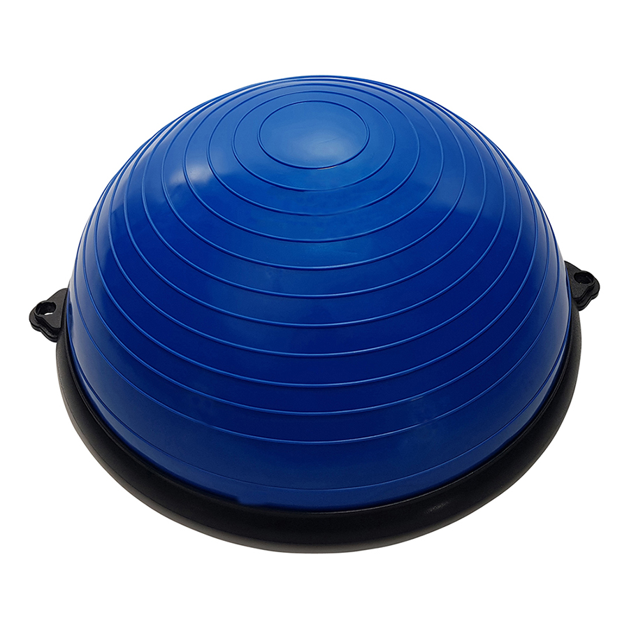 Tunturi Balanstrainer Bal - Met fitness elastieken - Blauw