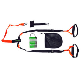Tunturi - Suspension Trainer - Crossfit Suspension trainer - Sling trainer - Met Draagtas - Zwart/Oranje