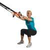 Tunturi - Suspension Trainer - Crossfit Suspension trainer - Sling trainer - Met Draagtas - Zwart/Oranje