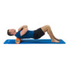 Tunturi Yoga Grid Foam Roller - Foam roller the grid - Foamroller - Fitness Roller - 61cm - (Oranje)