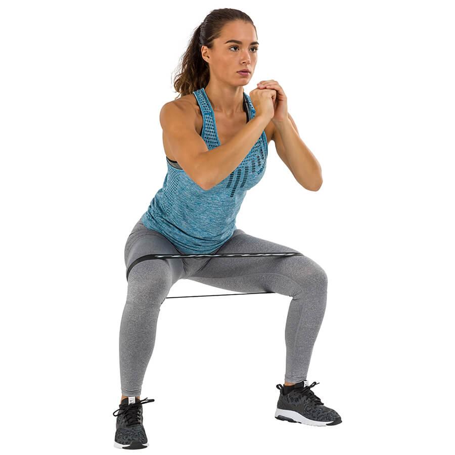 Tunturi 4 Weerstandsbanden Set - Mini Power body band - Weerstandsband - Fitness elastiek - Fitnessband - Trainingsband - Gymnastiekband
