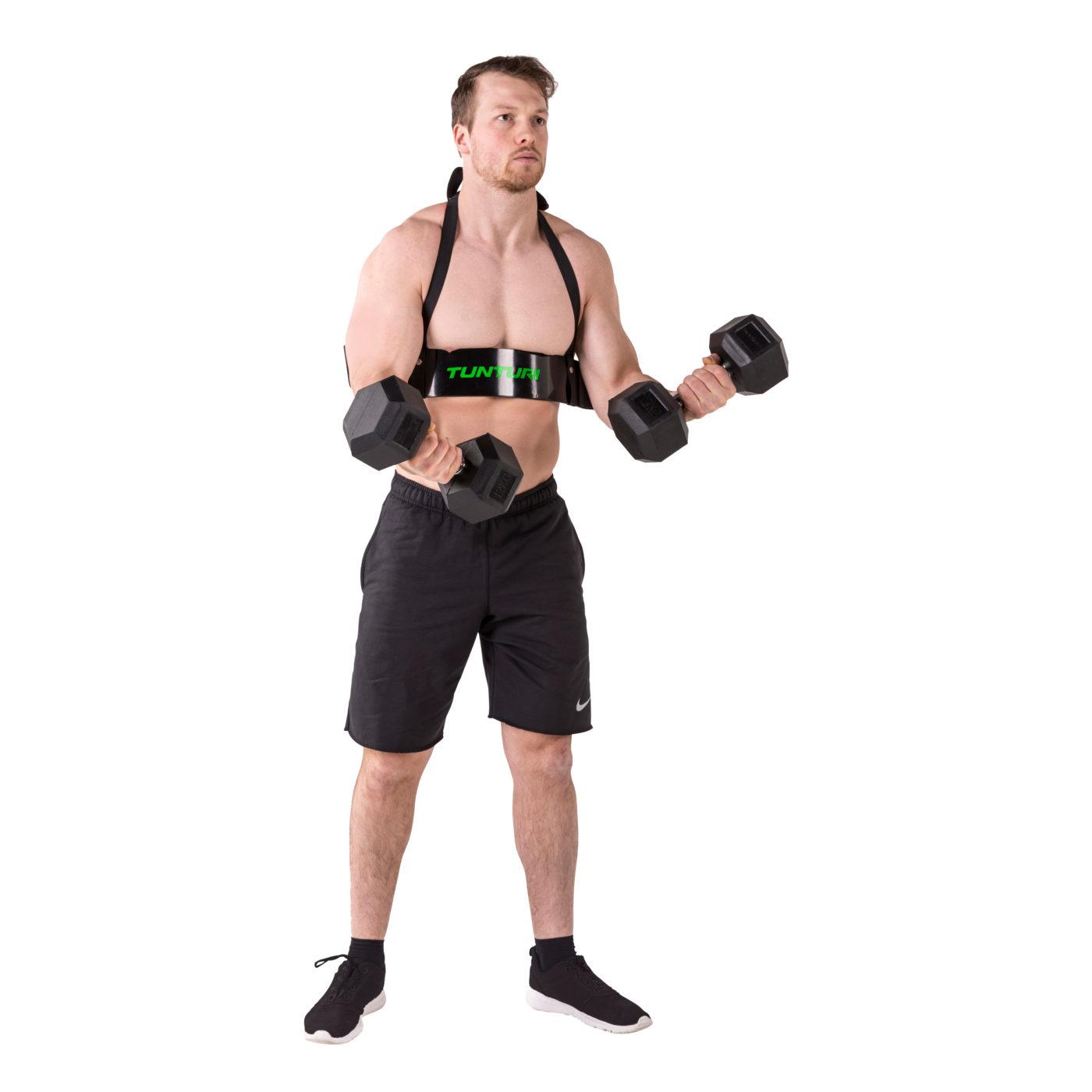 Tunturi Arm Blaster - Bicep blaster - Zwart
