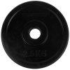Tunturi Halterschijven - Halter gewichten - 2x 2,50 kg - 30mm - Rubber
