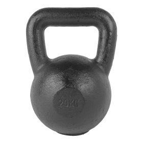 Tunturi Kettlebell - 20 kg - Zwart