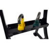 Tunturi Kettlebell Rek - Kettlebell standaard - 70 x 64 x 81 cm - Zwart