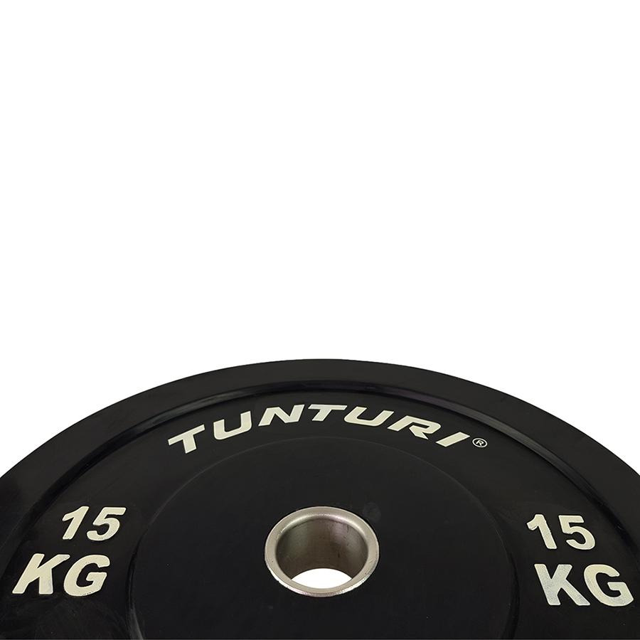 Tunturi Halterschijf 15kg (Black)