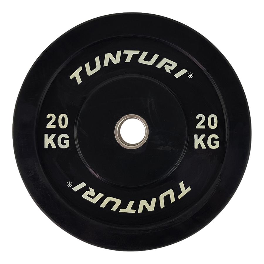 Tunturi Halterschijf 20kg (Black)