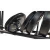Tunturi Multi opbergrek voor Wall balls - Kettebells - Halterschijven (zwart)