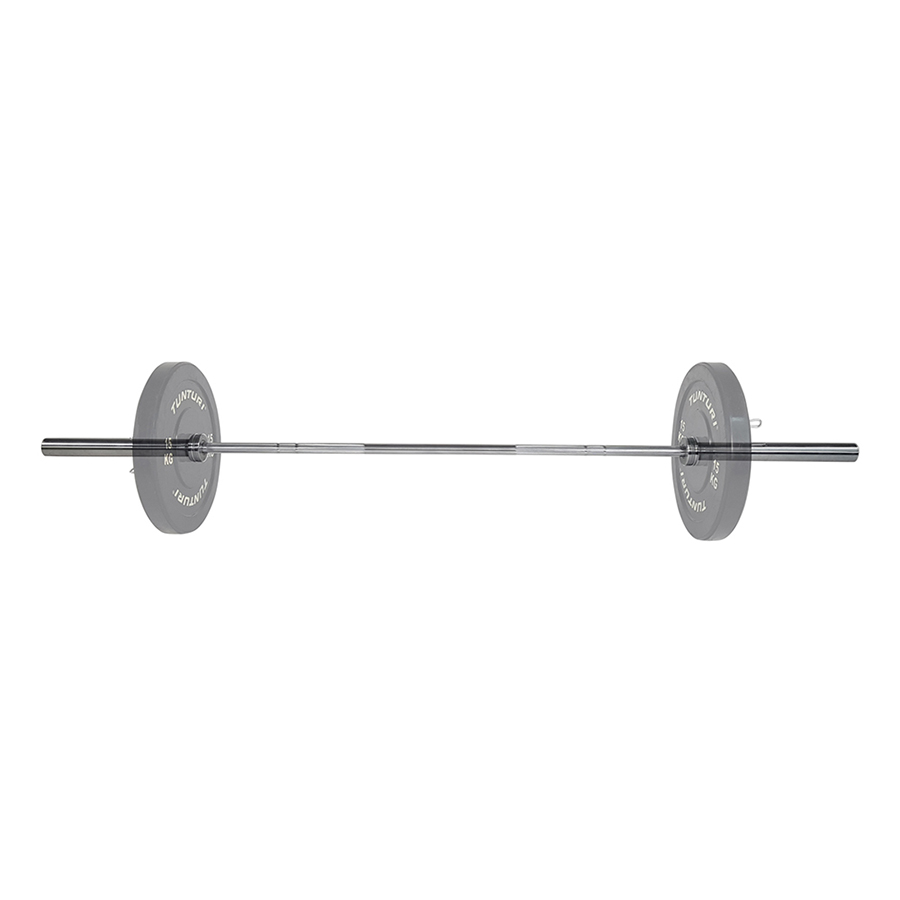 Tunturi Olympische Halterstang 220cm - 20kg - 28mm diameter
