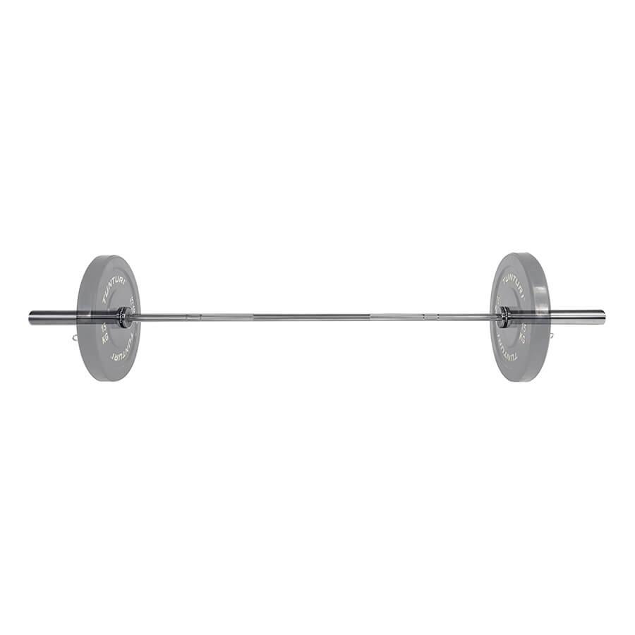 Tunturi Olympische Halterstang 201cm - 15kg - 25mm diameter
